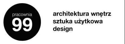 pracownia 99 – architektura i projektowanie wnętrz Logo